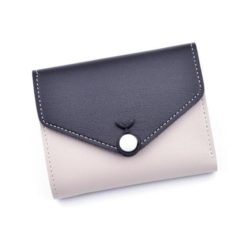 6f2ca2554b8 2018 New Ladies Purse Top Leather Mini Envelope Wallet Women Wallet Purse  Small Clutch Female Wallets Card Holder-in Wallets from Luggage & Bags on  ...