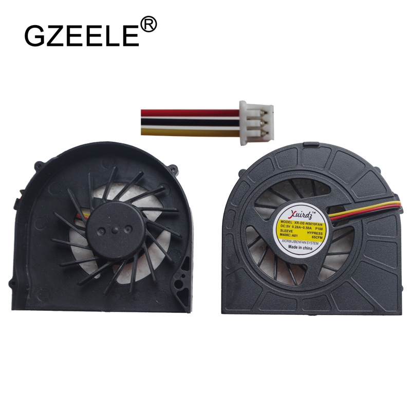GZEELE New Laptop CPU Cooling Cooler Fan For DELL For INSPIRON 15R N5010 M5010 Series Notebook Fan 3 Pins