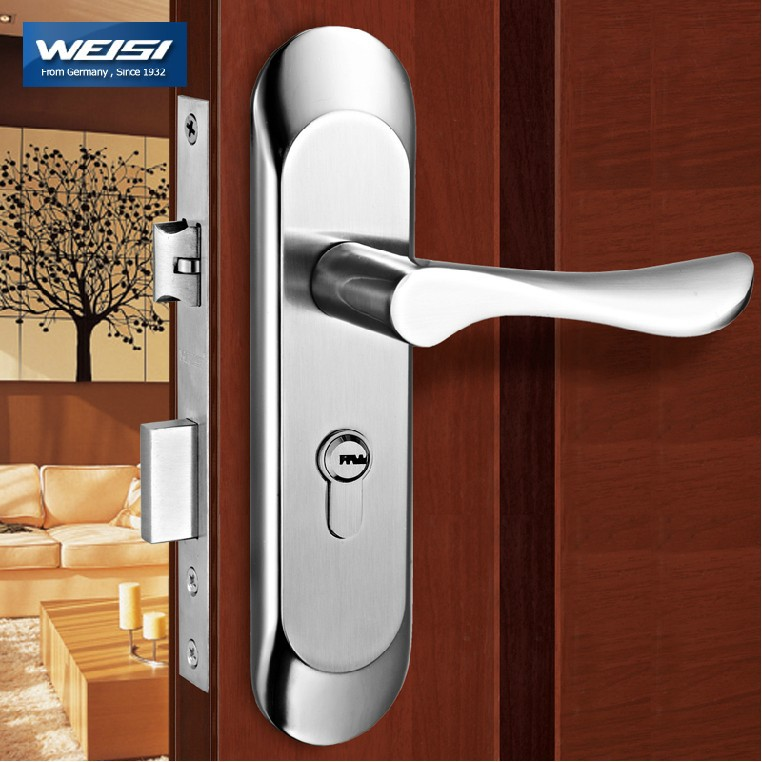 2 pieces door lock interior door locks european style - Door handles with locks for bedrooms ...