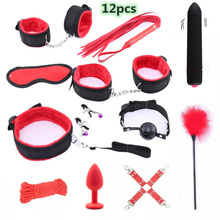 Sex Toys for Women Exotic Accessories Leather BDSM Sex Bondage Set Porno Handcuf