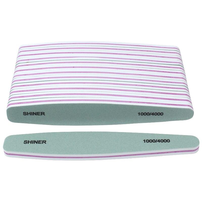 50 pcs esponja prego buffer para manicure lixa de unhas 1000 4000 art nail lixar arquivos