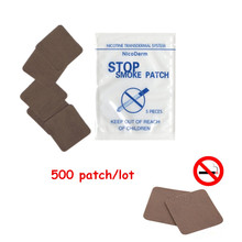 500pcs/lot Anti Smoke Patch Stop Smoking High Quality Chinese traditions Quit Plaster Effectively Health Care