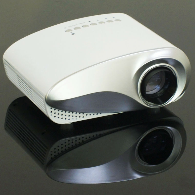 2016 hot selling hdmi mini usb projector built in tv tuner for Mirror mini projector