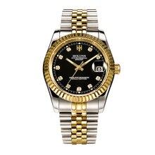 Luxury brand holuns Mens mechanical watches role automatic watch waterproof fashion Military Wrist Watch sport male clock все цены