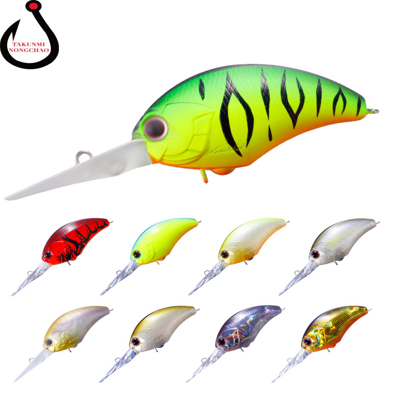 1PCS Wobblers 5 Colors 5cm 9.5g Hard Bait Minnow Crank Fishing Lures Bass Fresh Salt water VMC Hooks LD-138 1pcs lifelike 8 5g 9 5cm minow wobblers hard fishing tackle swim bait crank bait bass fishing lures 6 colors fishing tackle