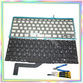 Brand new AZERTY FR French France Keyboard with Backlight & keyboard screws & screwdriver tools for Macbook Retina A1398