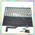 Nova marca de Teclado com Backlight & parafusos teclado AZERTY FR Francês France & ferramentas chave de fenda para Macbook Retina A1398