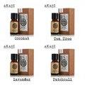 Известный бренд AKARZ Pure coconut чайного дерева лаванда масло пачули Эфирные масла Пакет Для Ароматерапии, массаж, Спа, ванна 10 мл * 4