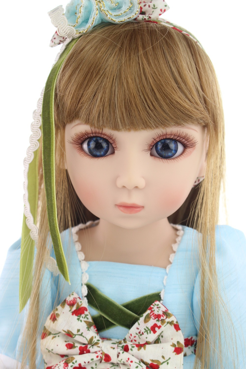 ФОТО beautiful SD/BJD doll 18inch top quality handmade doll poseable with joints