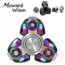 Top Rainbow Tri-spinner Hand Spinners Fidget Antistress Toys Speaker Stres Carki Skinner Finger Figet Spiner Fidgetspinner 30