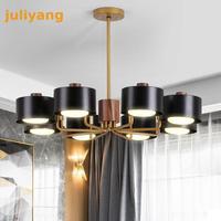 Nordic Modern Lighting Chandeliers Wood Chandelier Hanging light fixture for home decoration 220v 110v 220HZ