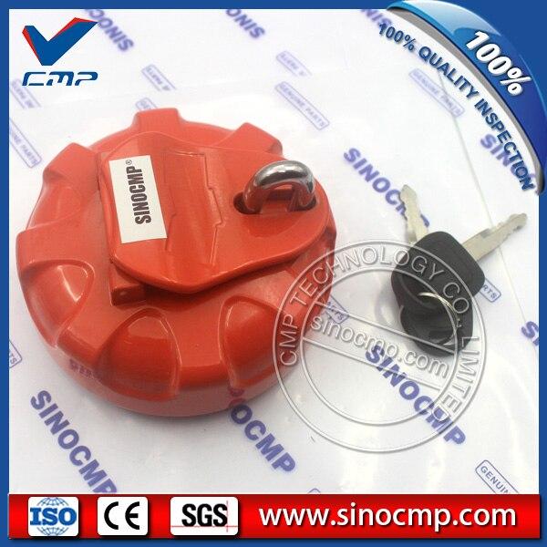 SINOCMP 300 Oil Cover, Fuel Tank Cap For Daewoo Doosan Excavator