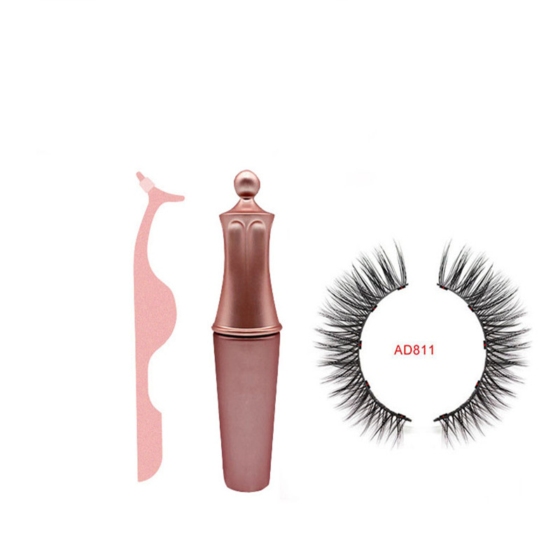 Luxury Collection Magnetic Liquid Eyeliner Magnetic False Eyelashes Tweezer Set Waterproof Long Lasting Magnetic Eyel in False Eyelashes from Beauty Health