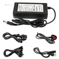 DC12V 6A 72W Power adapter charger Power Supply AC100-240V input for Led Strip Lights/Security Cameras/Video