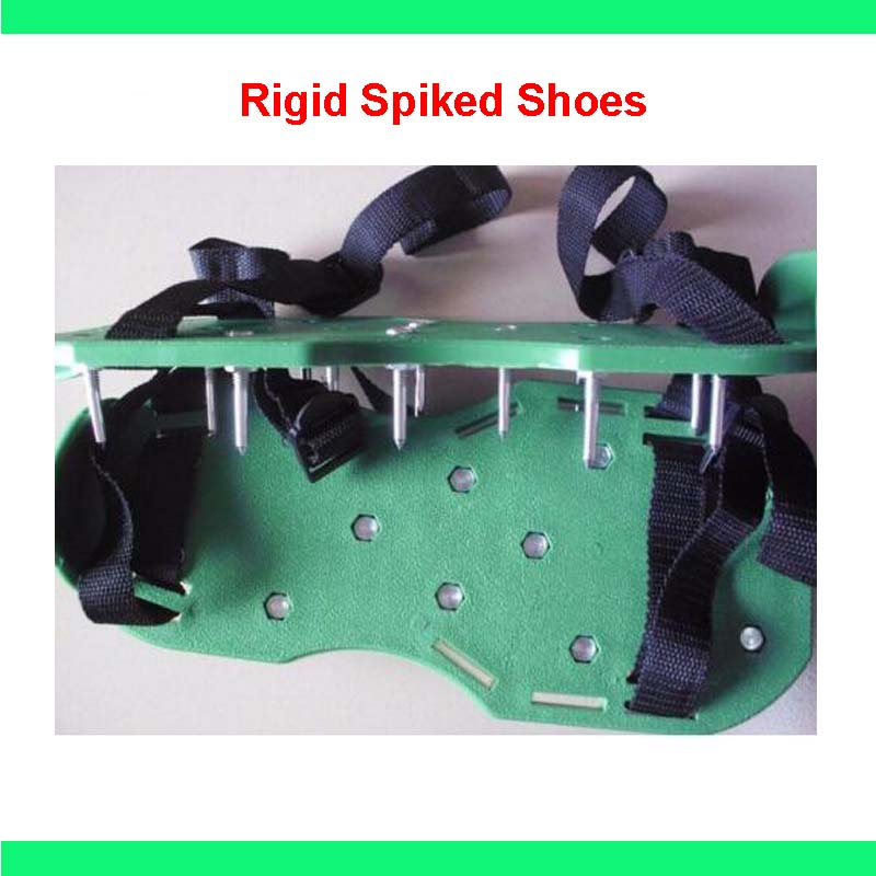 Free shipping One Pair Rigid Spiked Shoes for Epoxy Ardit Self Leveling Floors Aeration LatexFree shipping One Pair Rigid Spiked Shoes for Epoxy Ardit Self Leveling Floors Aeration Latex