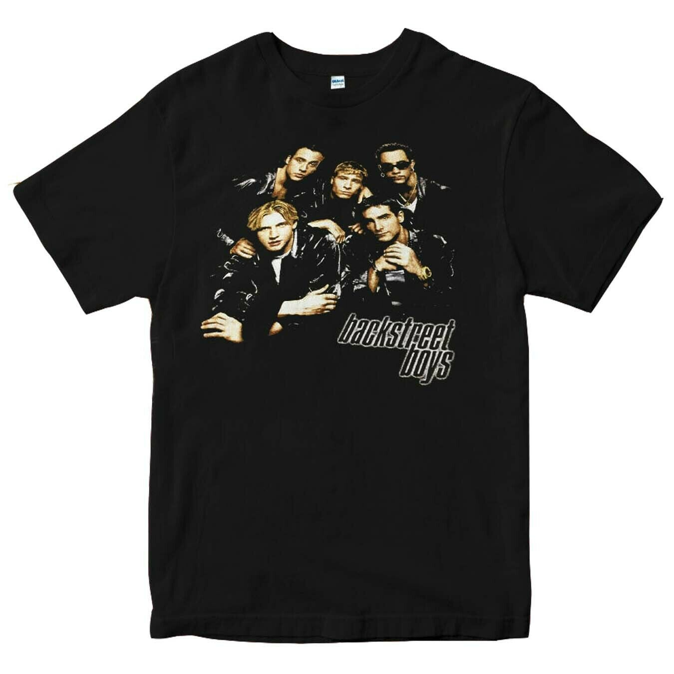 Vintage 90s Backstreet Boys 1998 Tour T-Shirt TOP Reeprint Top Quality Cotton Casual Men T Shirts Men Free Shipping Plus Size