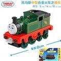 1: 64 новый стиль литья 1: 64 Литой модели Томас и Его друзья с крюком trainmaster дуновение