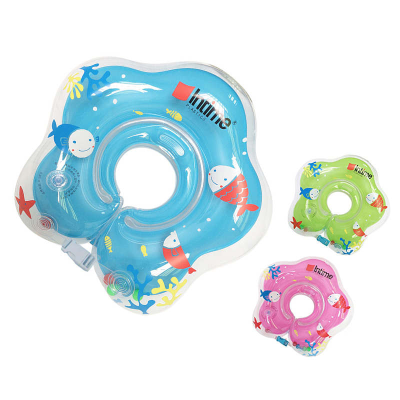 New Arrival Safety Baby Neck Float Infant Inflatable Ring