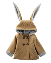 Fashion Cute Toddler Kids Baby Girls Boys Clothes Rabbit Bunny Dinosaur Fox Lion Shapes Hooded Coat Jacket Outwear Winter Suit