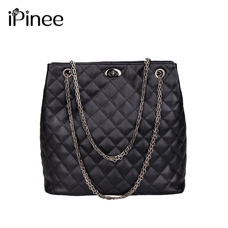 2017 Winter New Pattern Diamond Lattice Bale Leisure Time Handbag European Fashion Trend Chain Catch Single Shoulder Woman