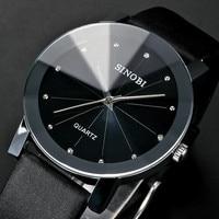 SINOBI Frauen Armbanduhr Top Marke Luxus frauen Uhren Diamant Uhr Frauen Uhren Leder Uhr relogio feminino reloj mujer