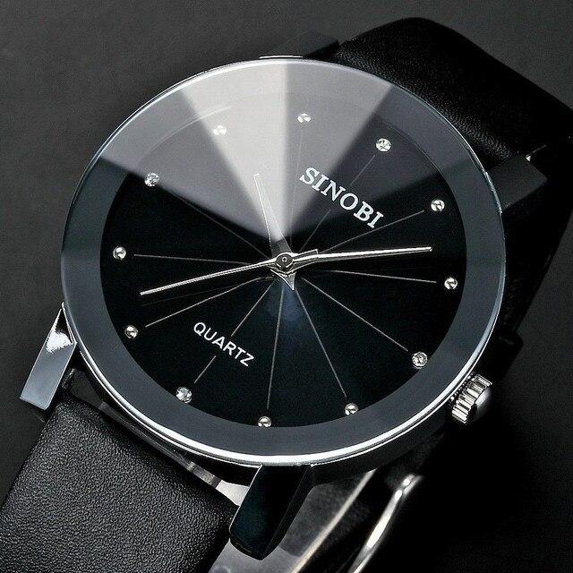 € 5.73 5% de DESCUENTO|SINOBI reloj de las mujeres superior de la marca de lujo de las mujeres relojes de diamantes reloj mujer Relojes de Cuero reloj