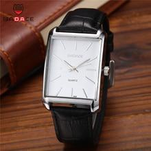 BADACE мужские часы люксовый бренд Мужские наручные часы кварцевые часы Бизнес повседневные кожаный ремешок водонепроницаемые часы 8888