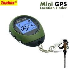 2017 Новый Мини Портативный GPS Навигационный Приемник Расположение Finder USB Аккумуляторная с Электронным Компасом для Наружной Путешествия