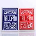 1pcs Original Tally-Ho No.9 Poker Fan Back Or Round Back Playing Cards Magic Props Magic Toys Magic Tricks Cardistry Deck