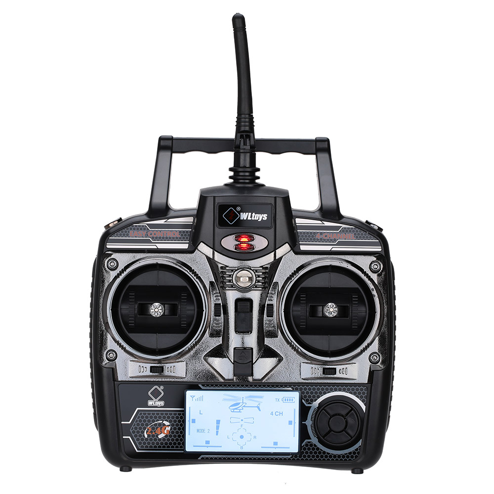 2.4GHz 4CH RC Transmitter for Wltoys V911S V911 V912 V913 V929 V939 V949 V959 RC Helicopter Part ...