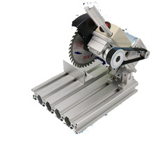 895 type household micro-cutting machine small aluminum cutting 4 inch desktop 45 degree wood steel