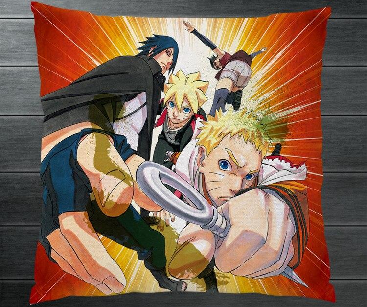 Anime Naruto Sasuke Uzumaki Boruto Boruto Sarada Mitsuki Dua Sisi Sarung Bantal 40x40 Cm Bantal Bantal Kasus Sampul Cosplay Hadiah Baru Aliexpress