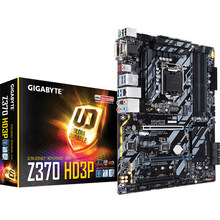 Free shipping original motherboard for Gigabyte GA-Z370-HD3P LGA 1151 DDR4 Z370-HD3P USB3.1 64GB Z370 desktop motherboard