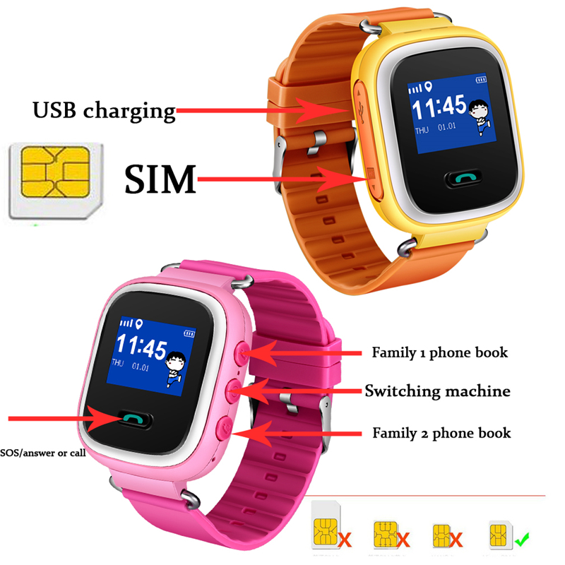 Children's Watches Learned Smart Watch Kids Bangwei New Child Anti-lost Smart Watch App Link Mobile Sos Call Lbs Tracker Children Intelligent Wristband