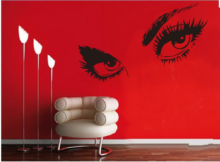 Aliexpresscom Buy Free Shipping Finether Audrey Hepburn - Vinyl stickers designaliexpresscombuy eyes new design vinyl wall stickers eye wall
