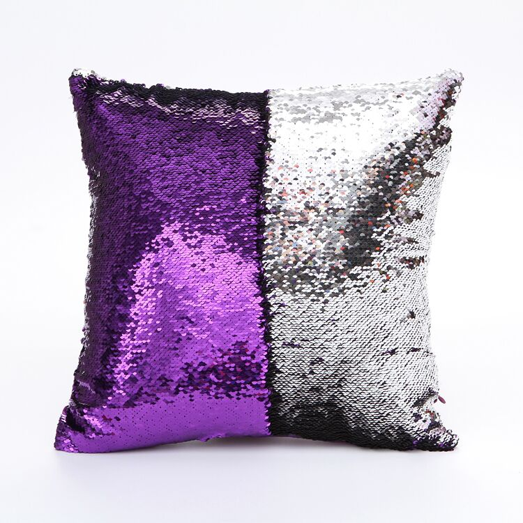 2017 Hot sale sofa sequins throw covers and pillows continental mermaid pillow cushion covers square pillow cases