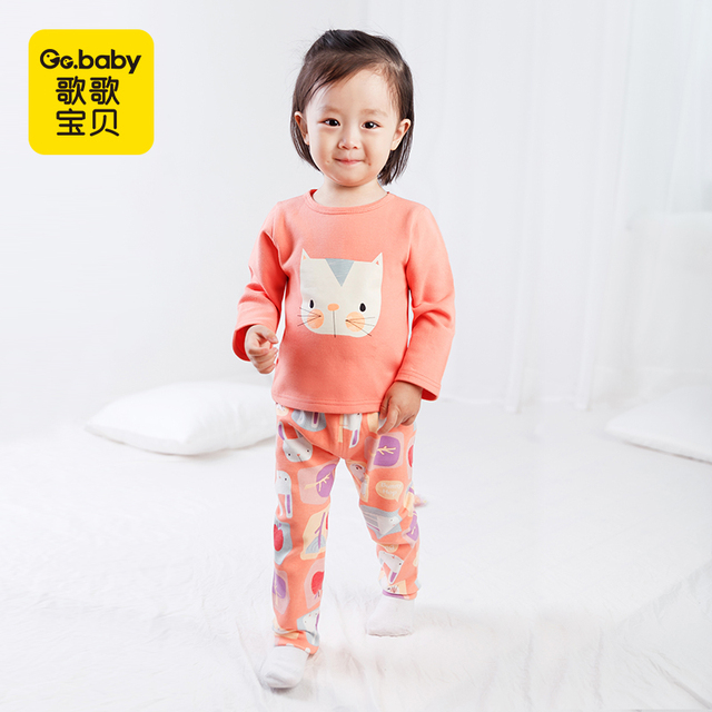b627a72ad8 Children Girls Clothing Set Toddler Outfit Clothes Baby Suit Kids Winter  Outfits For Girl Pajamas Sleepwear