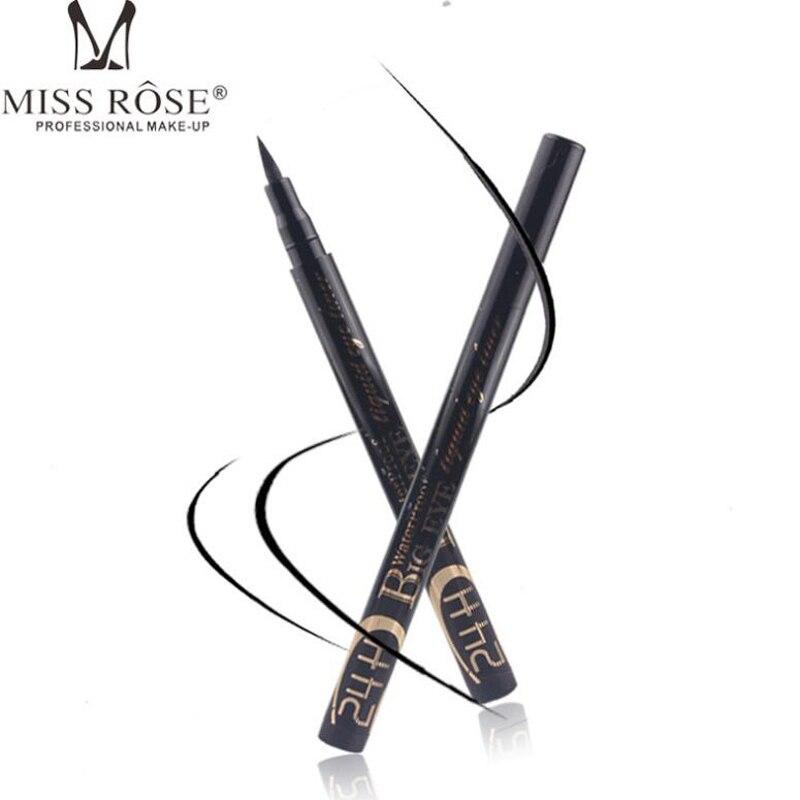 MISS ROSE Brand Professional Liquid Eyeliner Pen Big Eyes Waterproof 24H Long Lasting Smooth font b