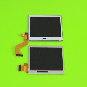 Image 2 - Üst alt LCD ekran ekran Nintendo DS Lite NDSL oyun konsolu için alt aşağı LCD ekran NDSL için onarım bölümü aksesuarları