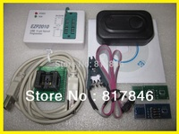 Free shipping EZP2010 Programmer USB SPI Programmer support 24 25 93 EEPROM bios chip+SOIC8 Clip IC Clamp+3 Adapter SSOP8