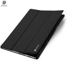 DUX DUCIS Luxury Flip PU Leather Case For font b Lenovo b font TAB 4 font