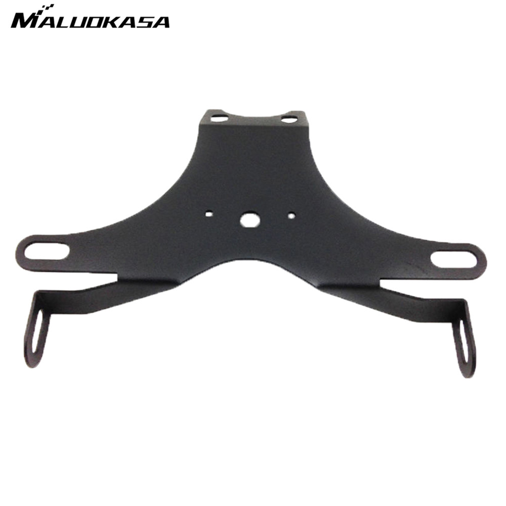 MALUOKASA Motorcycle  Fender Eliminator License Plate Bracket Tidy Tail For YAMAHA YZF R6 2006 2007 2008 2009 2010 2011-2015 for suzuki gsxr1000 2007 2008 motorcycle licence plate bracket tail tidy rear fender eliminator billet aluminum