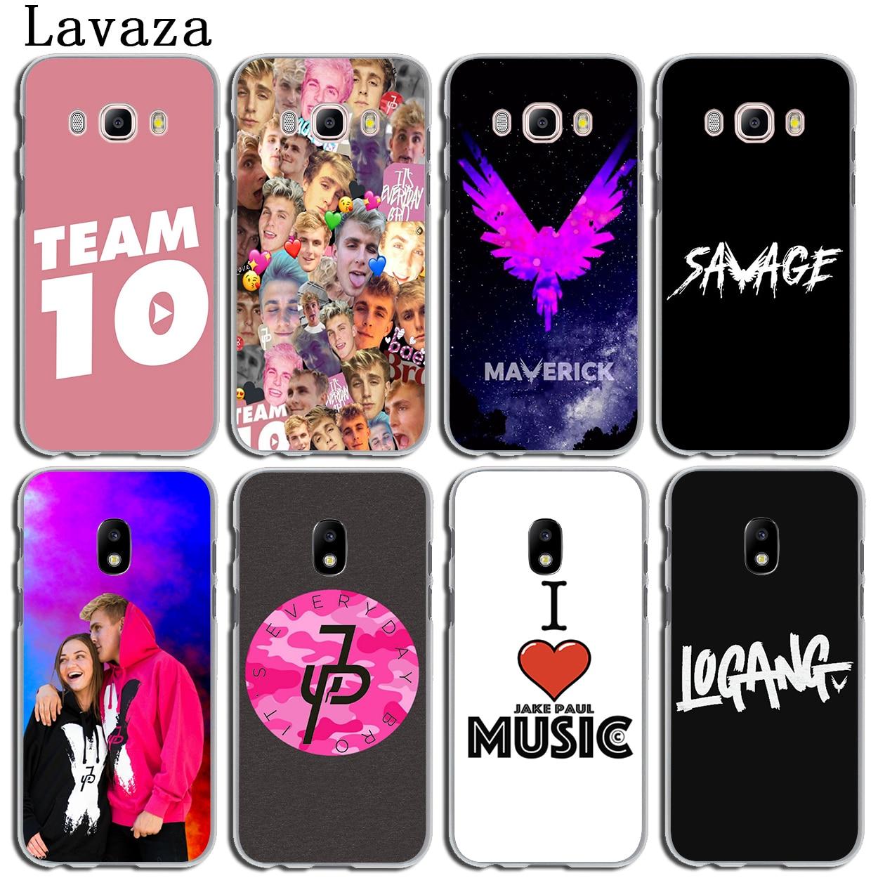 Lavaza logan Jake Paul Team 10 Phone Cover Case for Samsung Galaxy J3 J1 J2 J7 J5 2015 2 ...