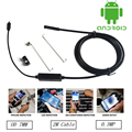 Android USB Эндоскоп 6 LED 7 мм Объектив Водонепроницаемая камера Инспекции Бороскоп Tube Камеры С 2 м Кабеля Зеркало