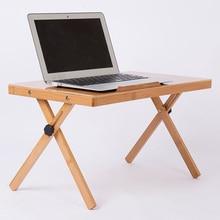 Office Furniture Folding Laptop Table Picnic Desk Laptop Anti slip Car Computer Desk Modern Adjustable Standing