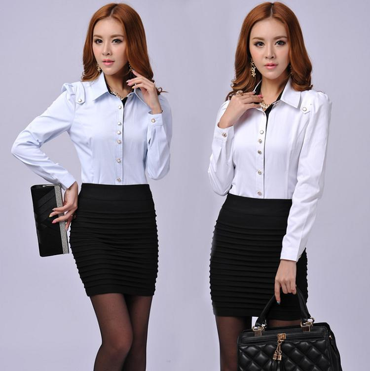 New 2015 Spring and Autumn Fashoin Women Skirt Suits Formal Ladies ...