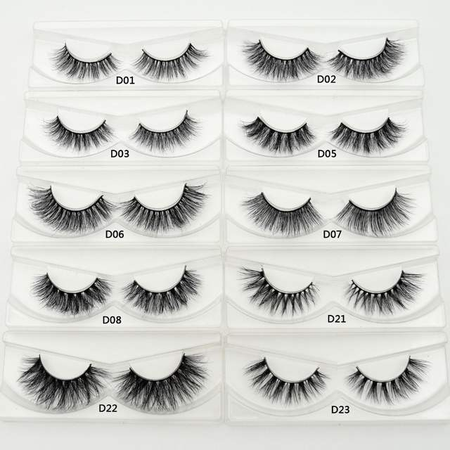 10718d0c3a5 placeholder Lash Mink Eyelashes 3D Mink Hair Lashes Wholesale 100% Real  Mink Fur Handmade Crossing Lashes
