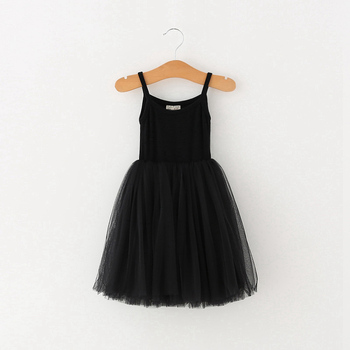 4 Colors girls summer dress casual style baby girls clothes children dresses girls 2018 cotton a-line birthday princess dress 1