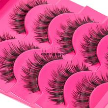 5 Pairs Makeup Handmade Natural Thick Long False Eyelashes Eye Lashes Extension
