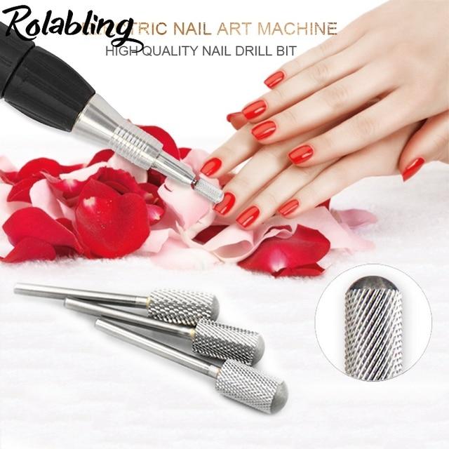 New Round Head Alloy Nail Drill Bit Pedicure Drilling Machine For ...